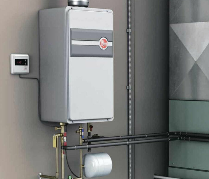 Tankless Water Heaters from Lewisvile Plumbing Services
